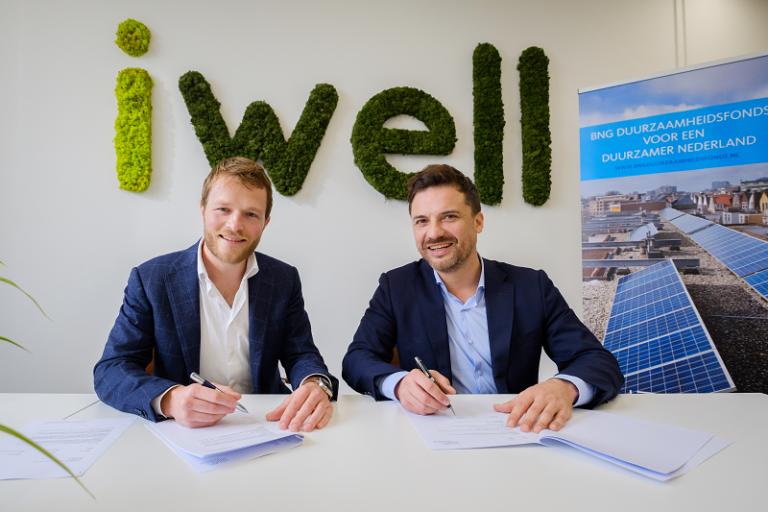 Ondertekening_iwell-BNG_Duurzaamheidsfonds